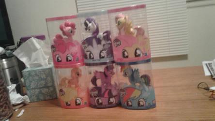 Gamer ponies by kimpossiblelove