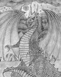 Dragon by FallenDrow
