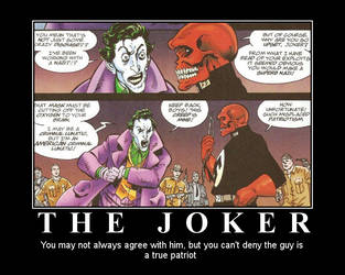 Demotivational Poster: The Joker by BlackINKim