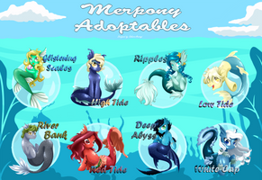 [OPEN] - Merpony Adoptables by Sakura-Araragi