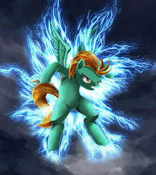 Dusty Lightning by Tails1000