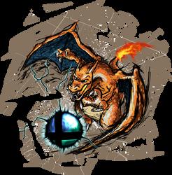 Smash Striker: Charizard by Tails1000