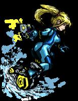 Smash Striker: Zero Suit Samus by Tails1000