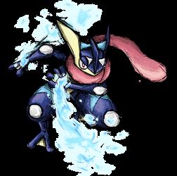Smash Striker: Greninja by Tails1000