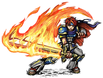 Smash Striker: Roy by Tails1000