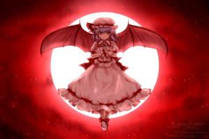 Remilia Scarlet by Metyuu