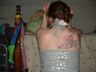 new but unfinished tattoo by OmgWtfIly