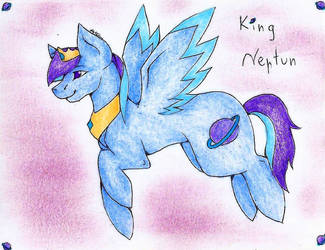 King Neptun (gift) by WeraHatake