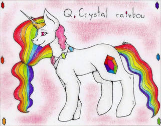 Q. Crystal Rainbow (gift) by WeraHatake