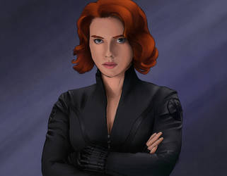 Black Widow - Natasha Romanoff by WeraHatake
