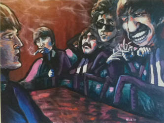 Dylan Tokin With The Beatles by soljwf98