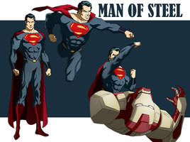MAN OF STEEL ANIMATED by CHUBETO