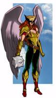 Hawkgirl by CHUBETO