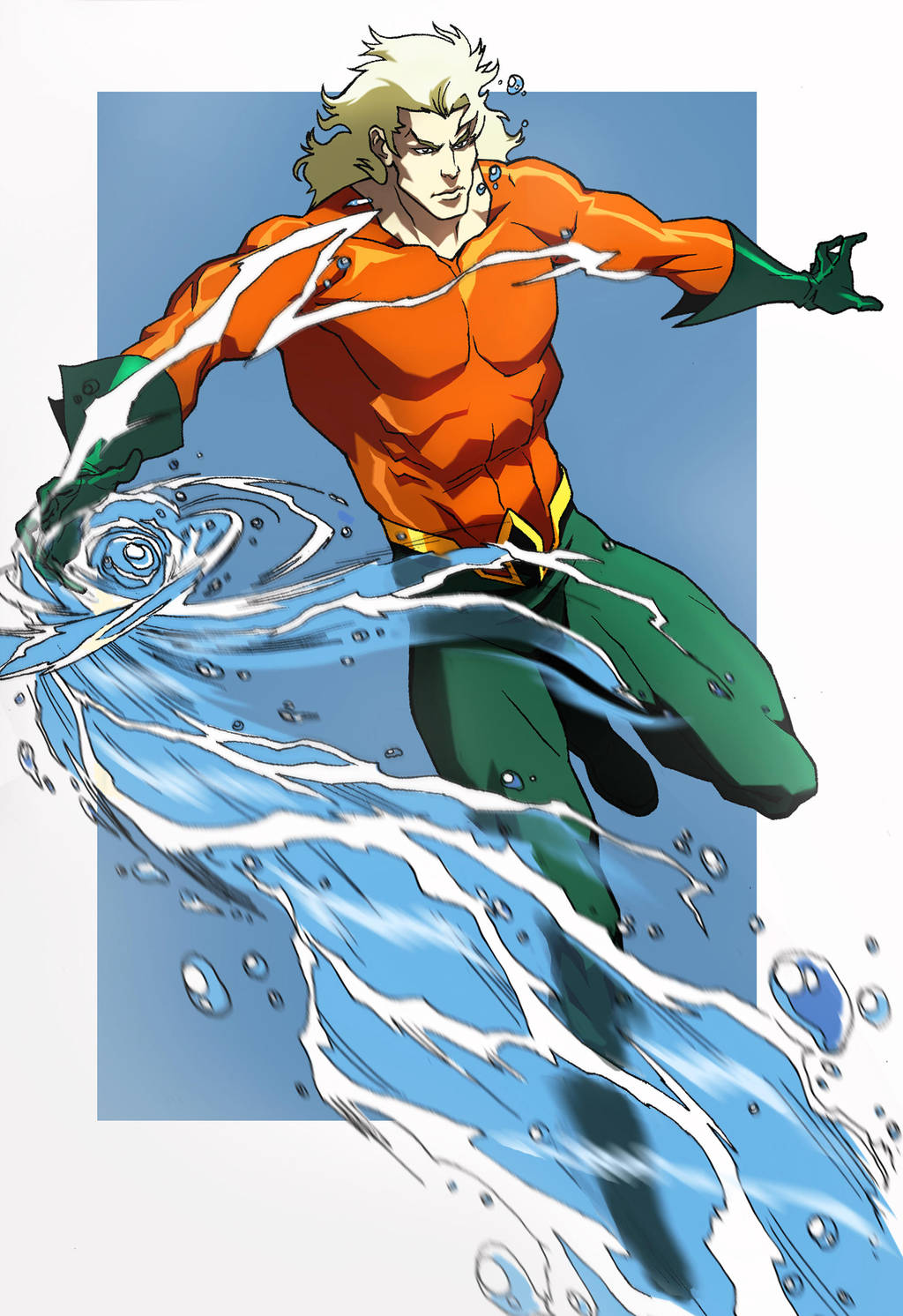 Aquaman Animated by CHUBETO