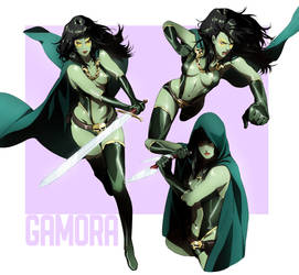 Gamora by CHUBETO
