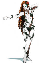 Poison Ivy sketch by CHUBETO