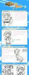 Digimon Skyline Meme: Chloe by SapphireWingsYuki