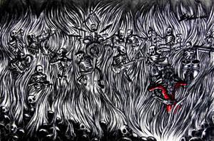 Big Red Love by krakatoanbeast