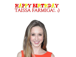 Happy Birthday Taissa Farmiga! by Nolan2001
