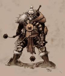 Barbarian- Diablo 3 by TepesArt