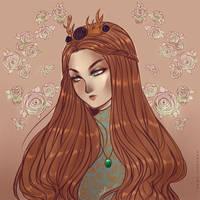 goodbye, my beautiful queen by AShiori-chan