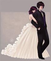 Patreon. Vampire Wedding by AShiori-chan