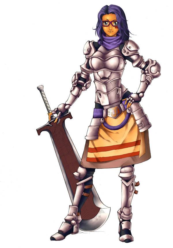 Ju Knight by JMayura