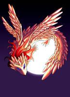 Light Gold Dragon by JMayura