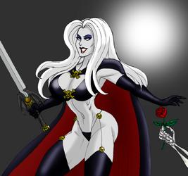 Lady Death by johnnyharadrim