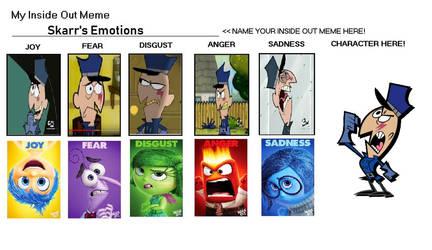 Skarr's Inside Out Emotions by TessMcGrath