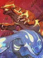 PKMN: Omega Ruby and Alpha Sapphire by Vaahlkult