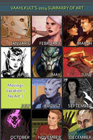 2014 Art Summary by Vaahlkult