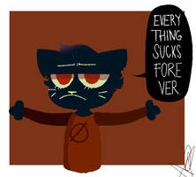 EVERYTHING SUCKS FOREVER -fanart- by catergiest