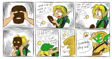 Link Found The Mask by citadel-garden