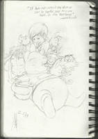 Winnie The Pooh Sketch by mechekin1