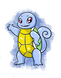 Squirtle Adopt by UniversesCollideInc
