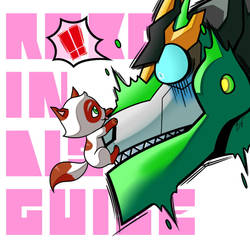 RID: Grimlock x Kitty by Evelynism