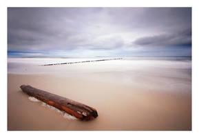 on the beach by anoxado