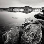 Norwegian lake no.2 by anoxado