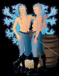 Pirate Twins by Akamar