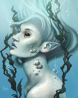 Sea creature by MeganMissfit