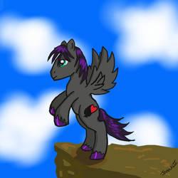 Ace - OC Pony by Jenovaii