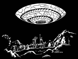 OVNI 1996- FLYING SAUCER by POLO-JASSO