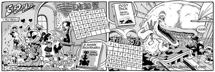 Calendario Literario 1 by POLO-JASSO