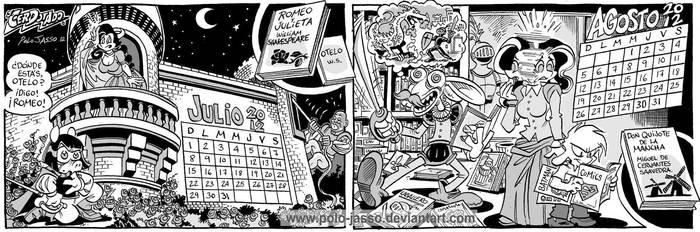 Calendario Literario 4 by POLO-JASSO