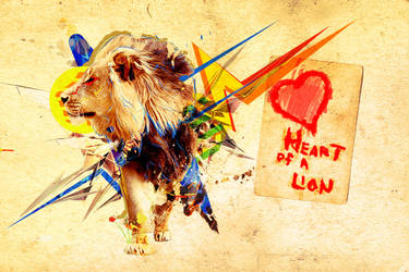 Heart of a Lion by MICHA3LT