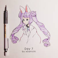 Inktober Day 7 by xSanichi