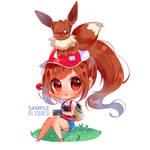 Pokemon Let's go eevee [OPEN ORDERS] by xSanichi