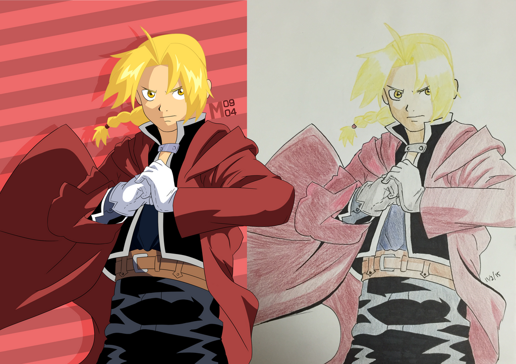 Edward Elric by Mmatt0904