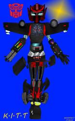 Autobot KITT by MOONFIGHT